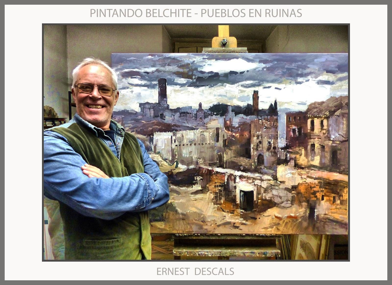Ernest descals artista pintor playas pinturas marina - Trabajos de pintor en madrid ...
