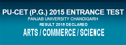 PU CET PG Result 2015, Punjab University CET PG Arts, Science, Commerce Result 2015 will be announce at cetpg.puchd.ac.in. PU CET 2015 Results, PU CET PG July 2015 Result, Punjab University, Chandigarh PG Common Entrance Test PG 2015 Result Merit List