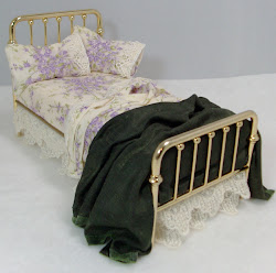 Sweet Lilacs Dressed Bed