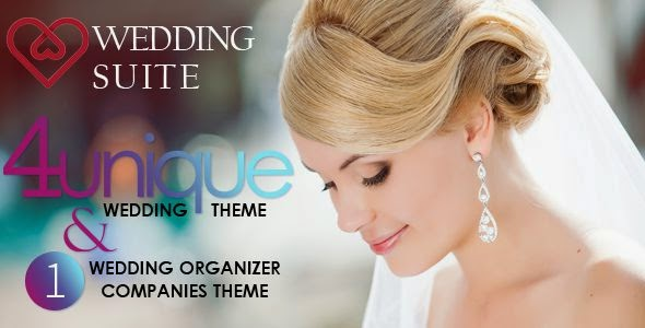 Best Wedding WordPress Template 2014
