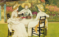 The Tea Party, Kate Greenaway