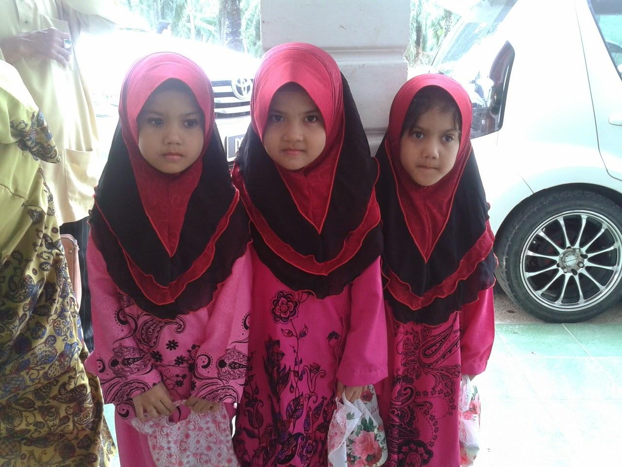 alya,niesa,syasya 6 tahun