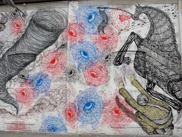 Street Art By Andrew Schoultz For RVA Urban Art Festival In Richmond, USA. 5