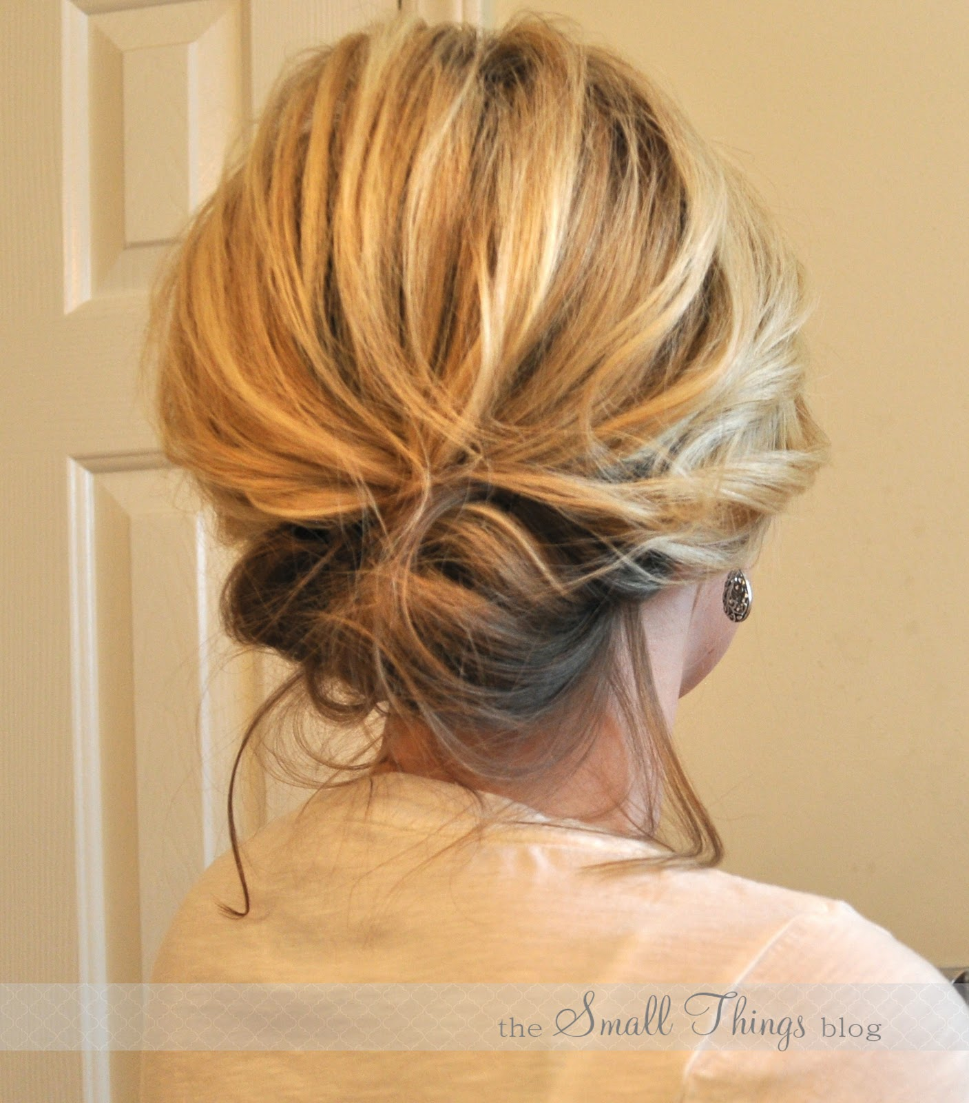 The Chic Updo The Small Things Blog