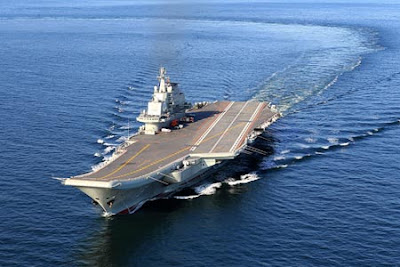 China&#39;s First Aircraft Carrier Liaoning
