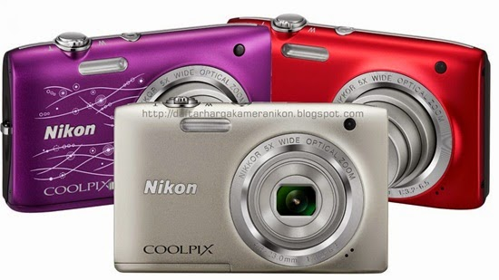 Harga dan Spesifikasi Kamera Nikon Coolpix S2800