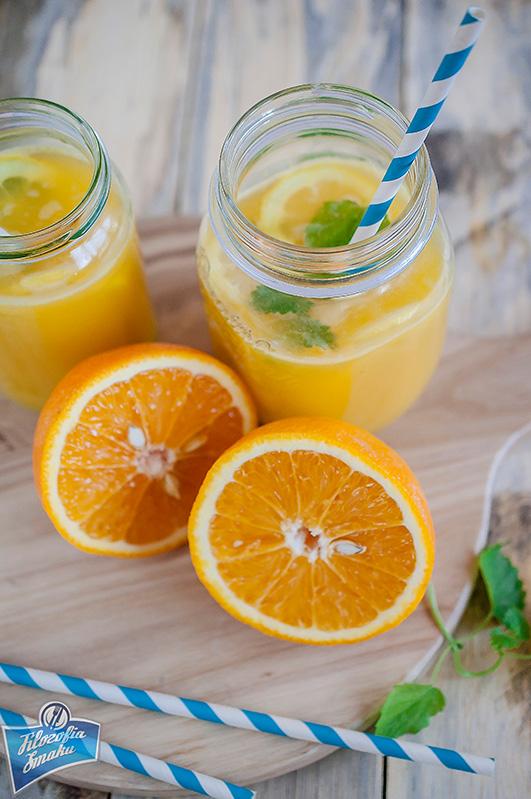 Orzeźwiający napój na lato