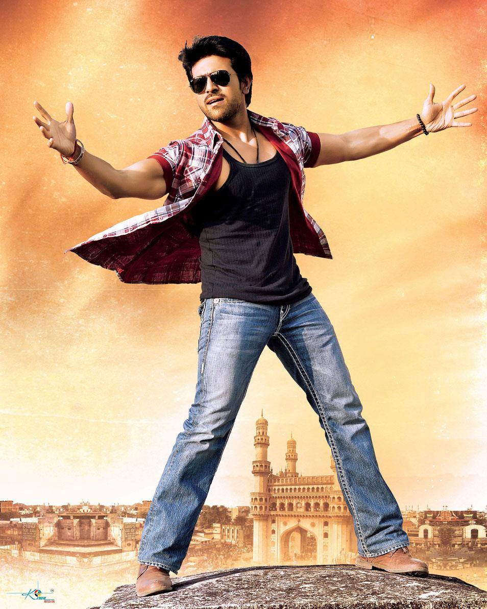 Ram Charan Stylish Stills From Racha Movie Ram Charan