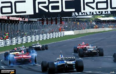 GP Da Inglaterra de F1, Silverstone em 1997 - continental-circus.blogspot.com