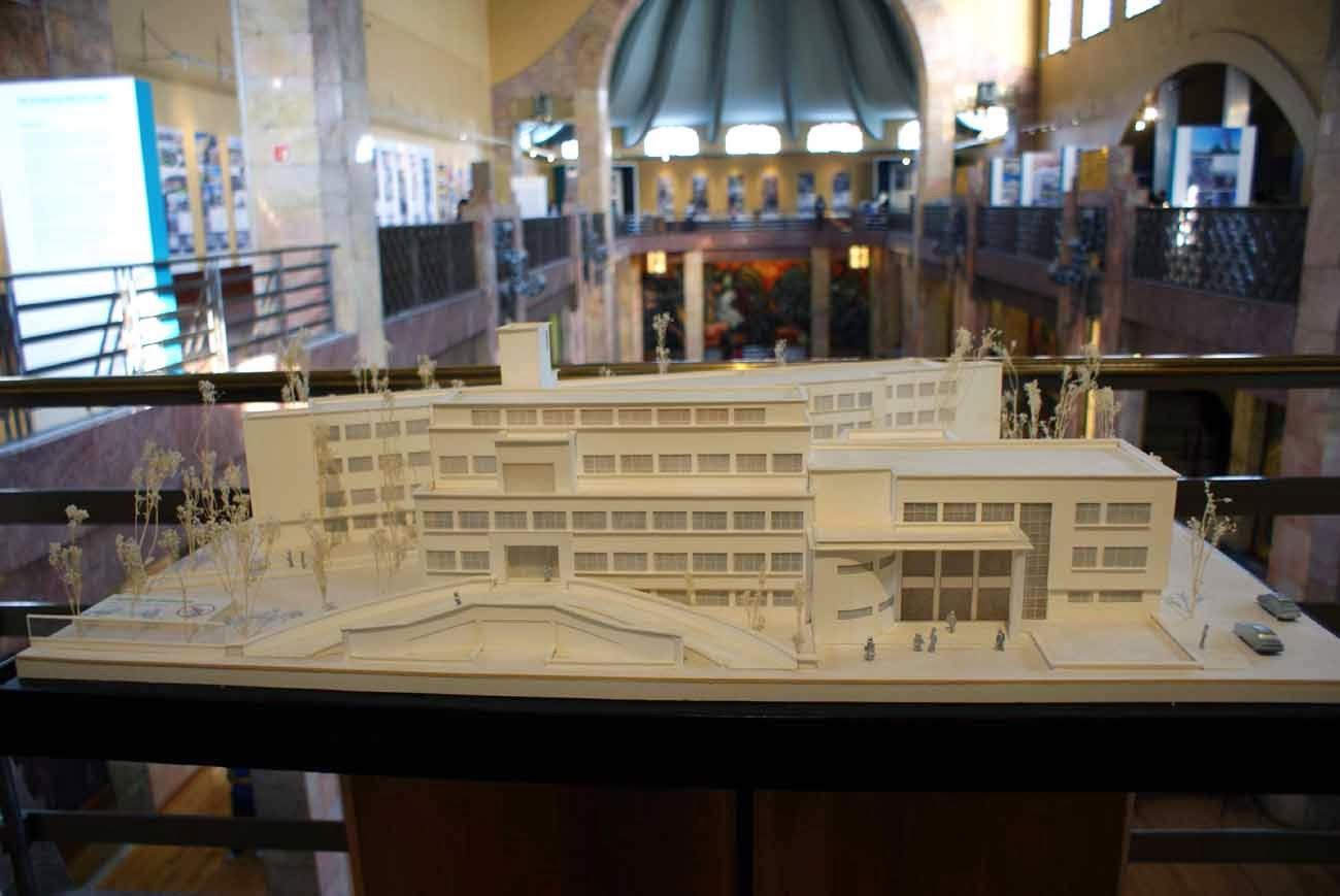 Arquitectura para la salud en museo nacional de arquitectura for Arquitectura 7 bellas artes