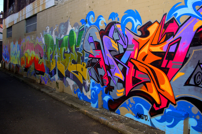 In The Street Walls And Graffiti Andrea Paris The Street