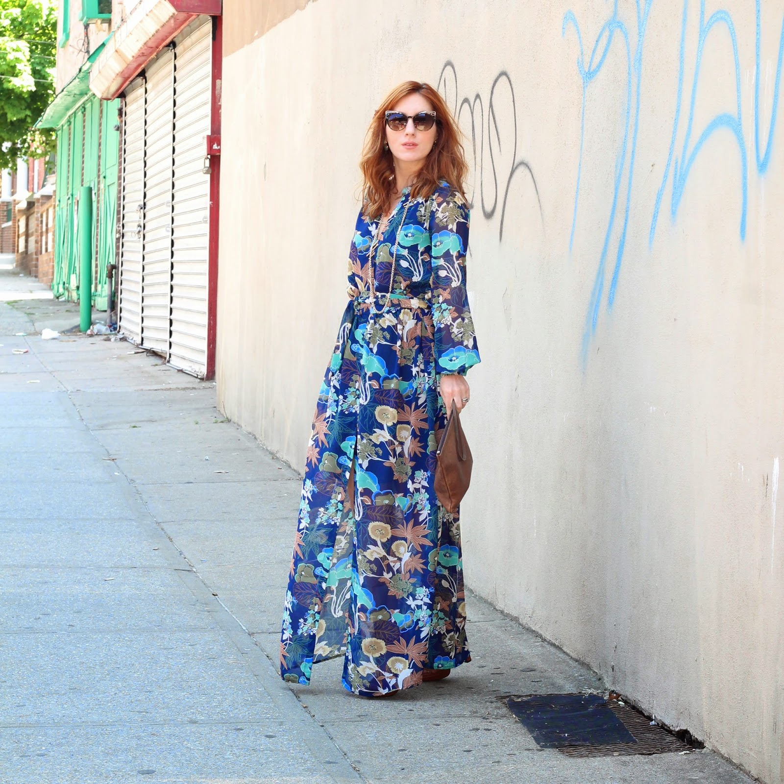 H&M Maxi Dress, H&M Summer 2015 dresses, maxi dresses, best maxi dresses under $50, megan zietz, tfdiaries, the frugalista diaries, street style, stylish new yorkers