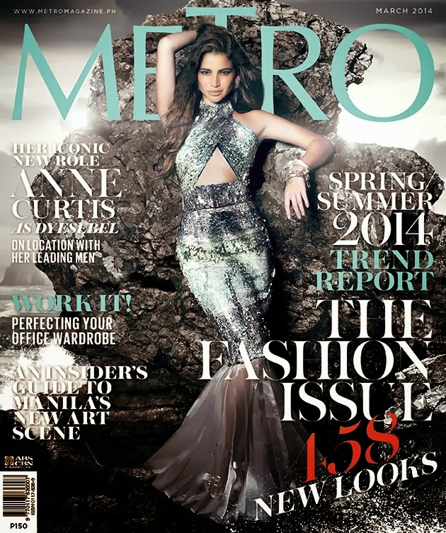 Anne Curtis Photos from Metro Philippines Magazine Cover March 2014 HQ Scans