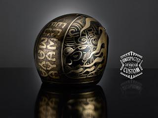 Casco custom aperto Maya