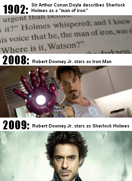 Interesting Fact About Robert Downey Jr. Iron Man, Sherlock Holmes And Sir Arthur Conan Doyle