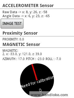 Test Sensor