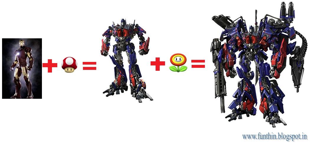 Как сделать трансформацию как в трансформерах6