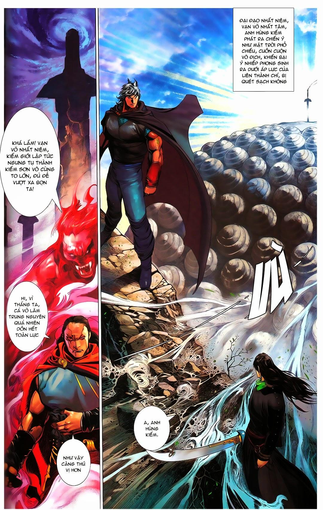 Phong Vân chap 667 Trang 26 - Mangak.info