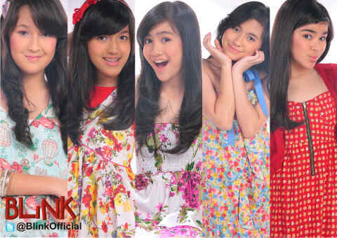 Foto Cantik Blink, Girl Band Indonesia