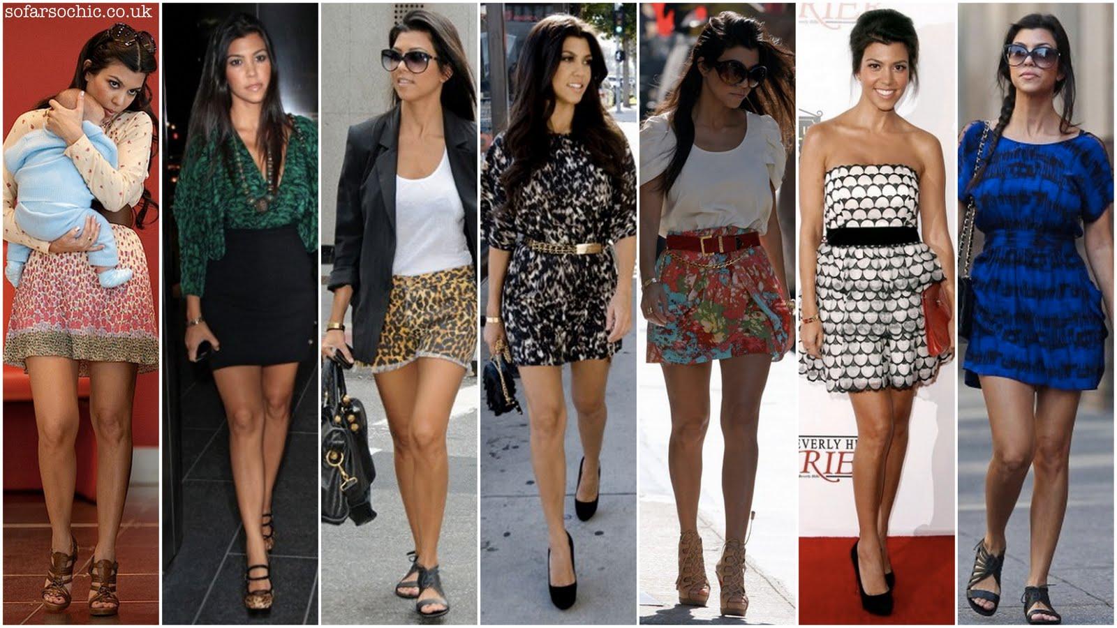 Inspired Celeb Style Kourtney Kardashian