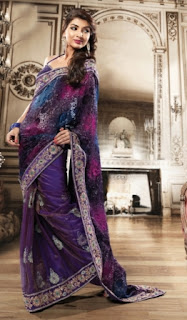 Trendy-Embroidered-Saree