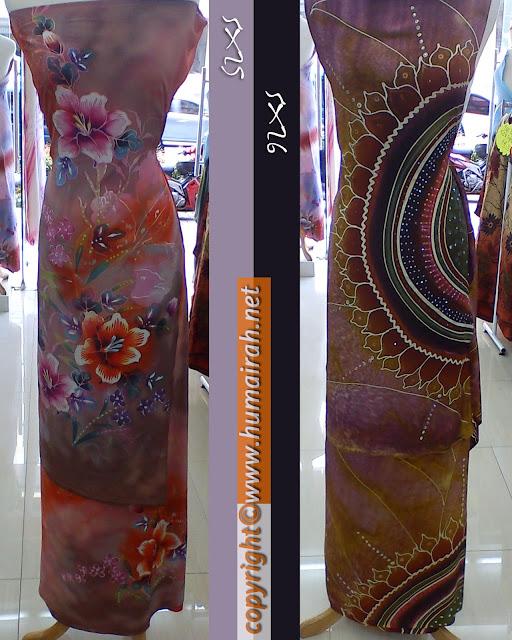 Batik Sutera Crepe Exclusive Purple