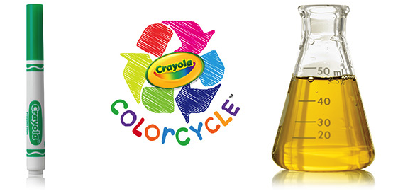 recycle Crayola markers and Crayola will turn it into ENERGY