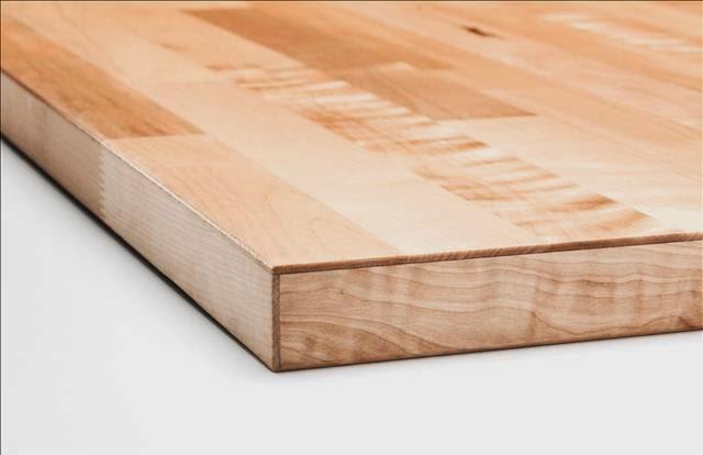 Encimeras y paneles frontales todo sobre las nuevas - Encimera madera maciza ...