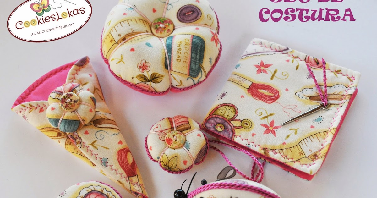 Cookieslokas set de costura - Set de costura ...