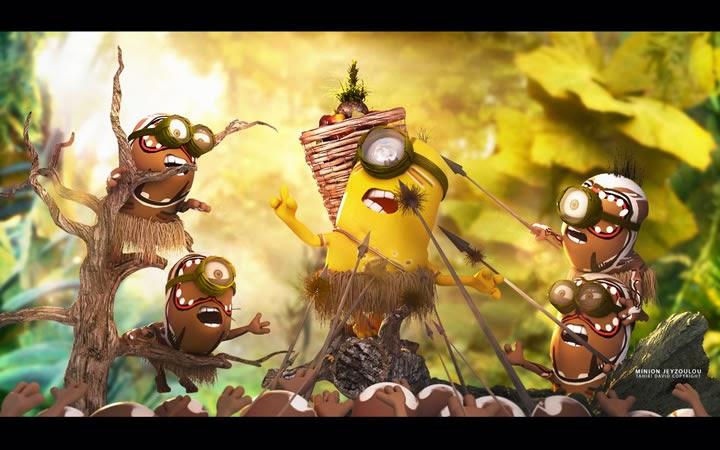 minion na selva