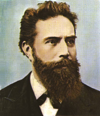 Wilhelm Conrad Rntgen (1845--1923)