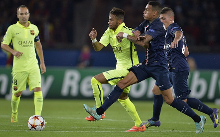 Video Cuplikan Gol PSG VS Barcelona 3-2 Tadi Malam 1 Okt 2014