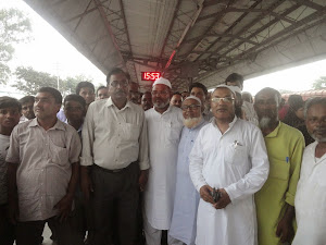 Ajmine Hajj departing from Kishanganj