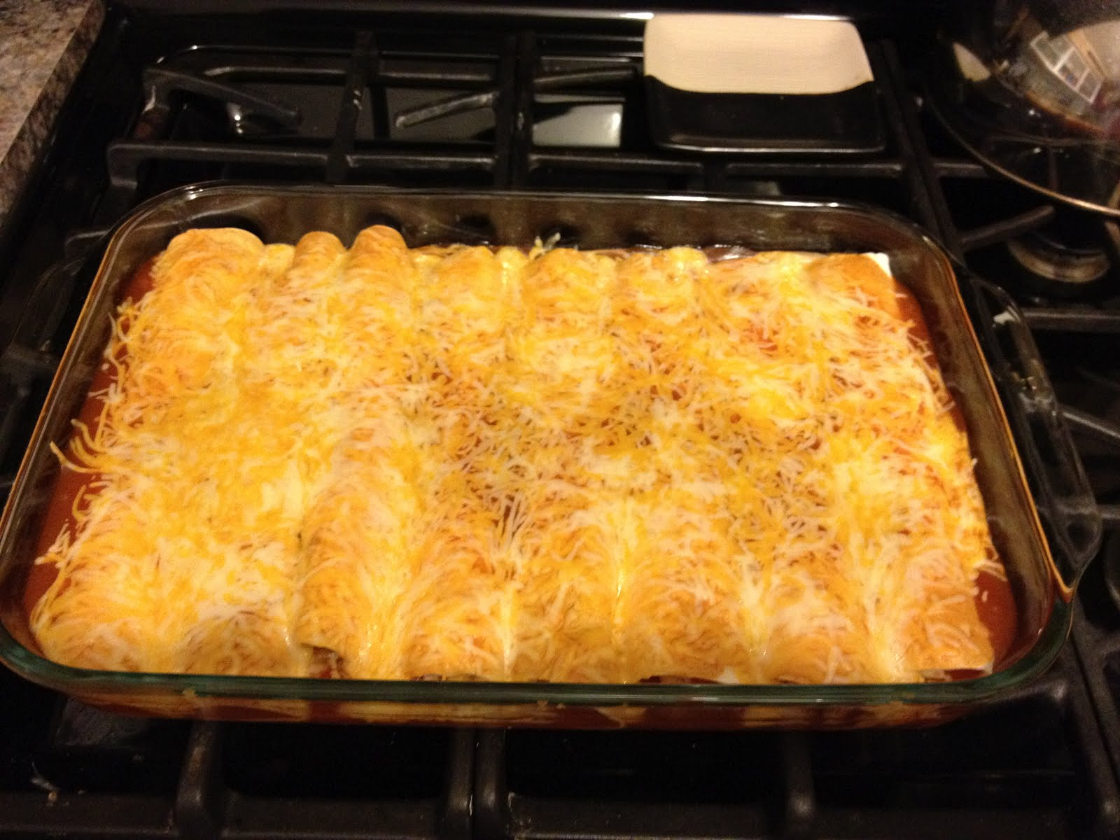 Pinned Sisters: Super Easy Beef Enchiladas
