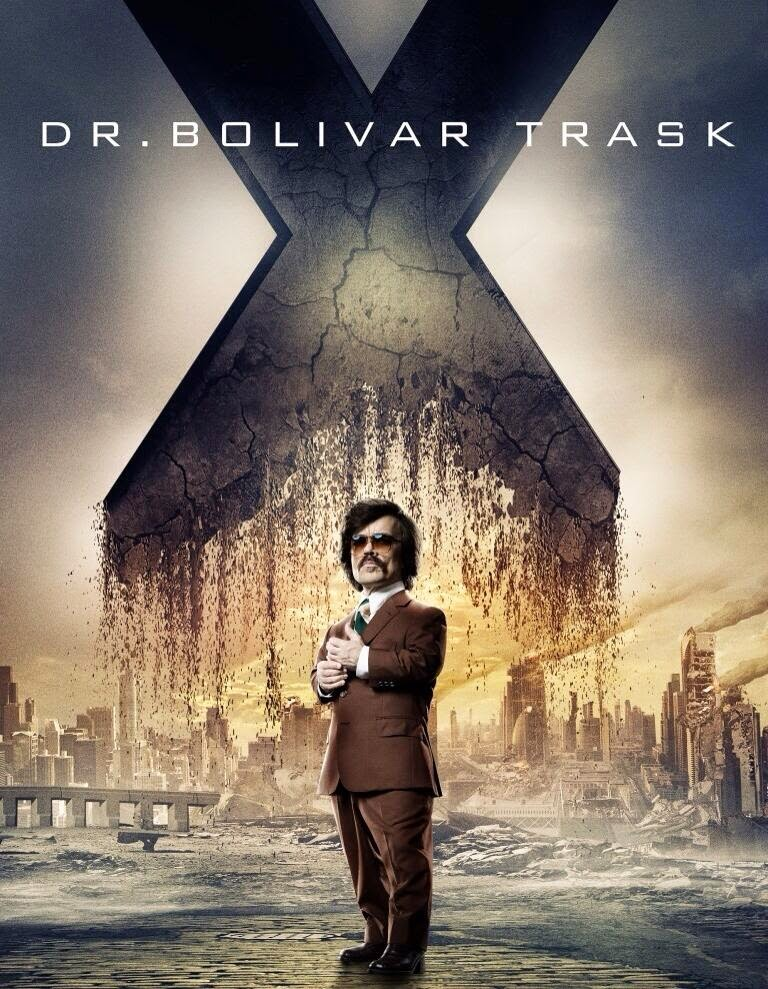 X-men days of future past - dr bolivar trask