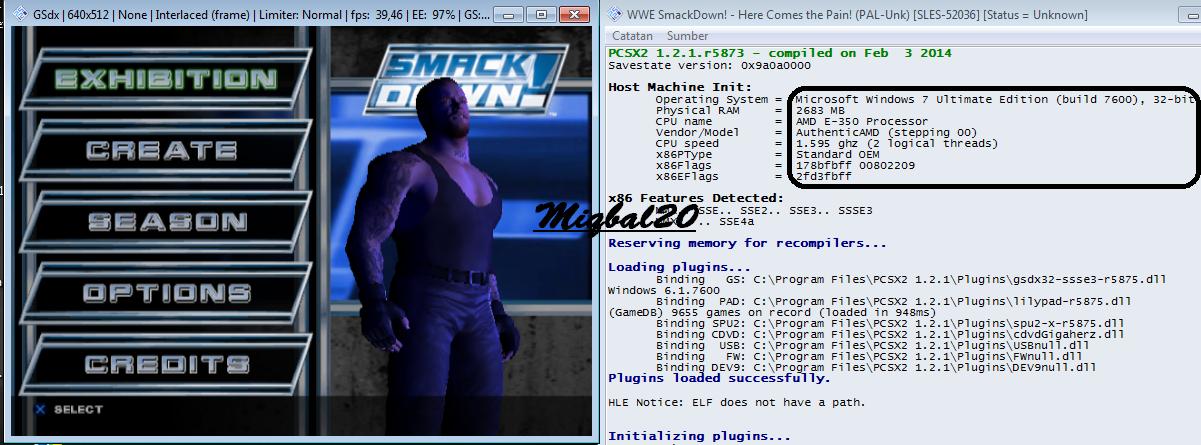 Cara Setting PCSX2 1.2.1 di Spesifikasi PC Rendah (100% work)
