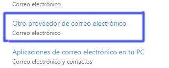 Como importar cuentas de correo de cualquier servicio a Outlook
