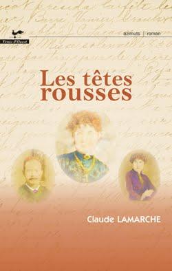 <i>Les têtes rousses</i><br>roman toujours diponible