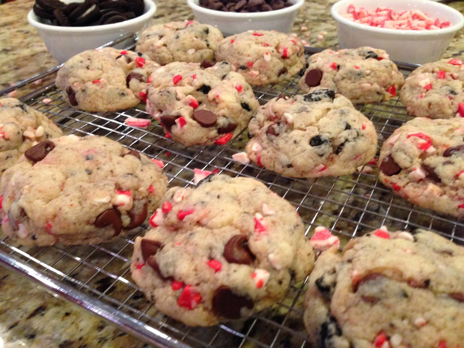 cookies peppermint crunch cookie dough ball peppermint oreo cookies ...