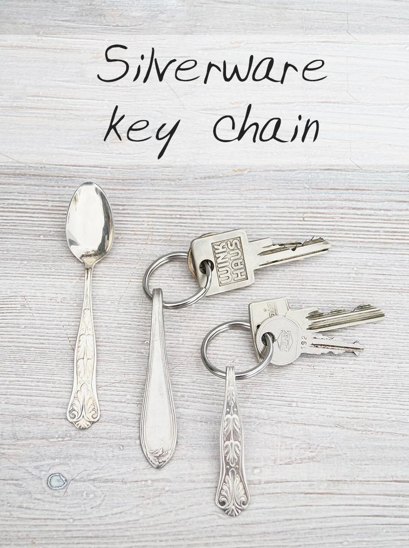 Besteck-Schlüsselanhänger - Silverware key chain