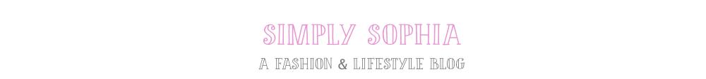 Simply Sophia Blog