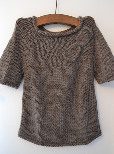 Pull en tricot avec un capot 6