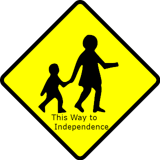 school sign independence