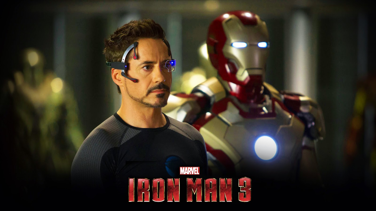 Wallpaper Iron Man 3 HD