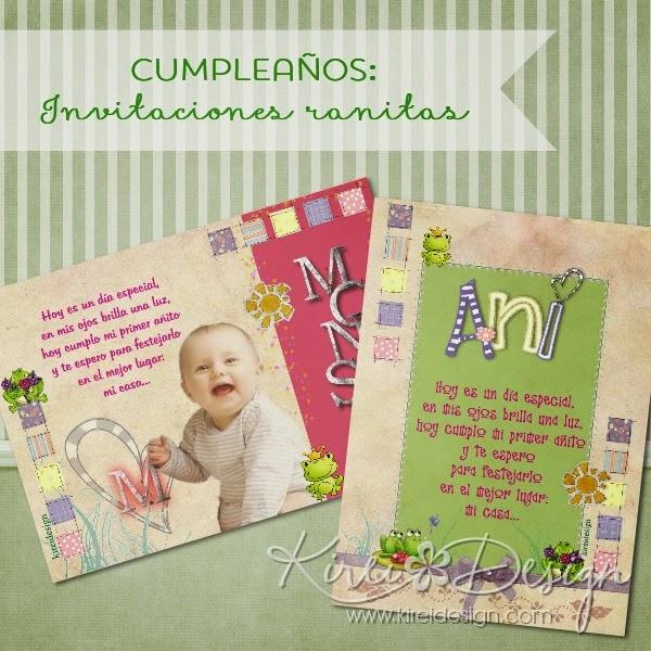 tarjetas imprimibles con ranitas