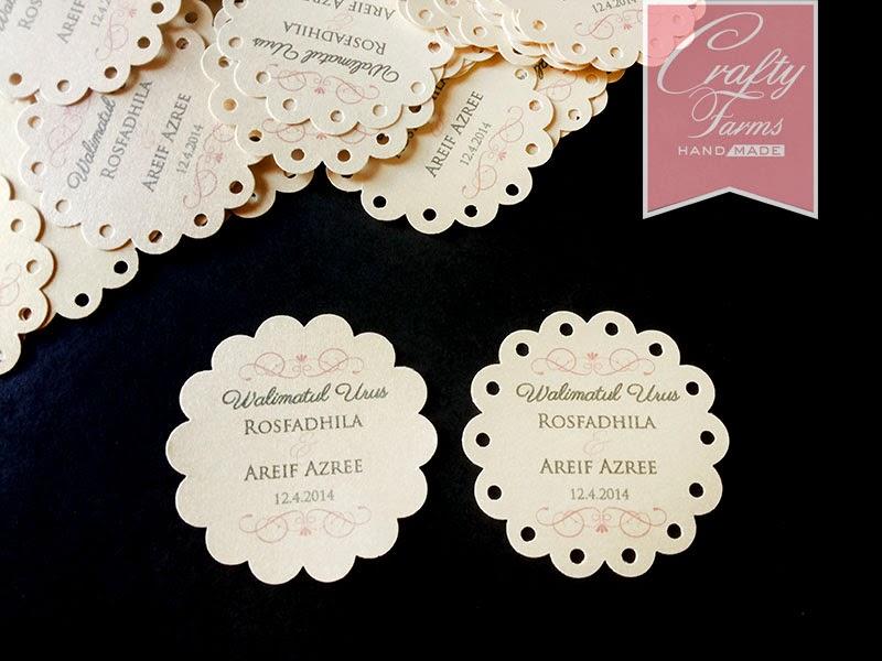 Wedding Gift Card Malaysia : Wedding Card Malaysia Crafty Farms Handmade : Fancy Round Scallop ...