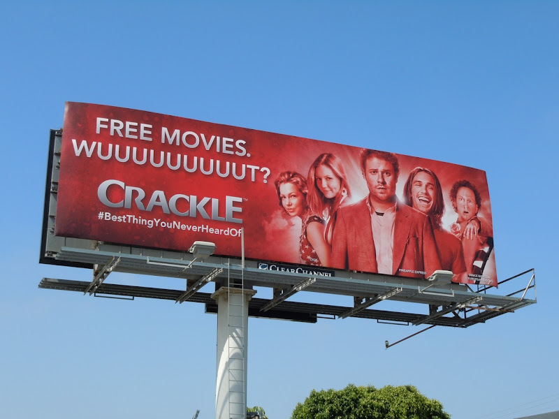 Crackle comedy movies billboard