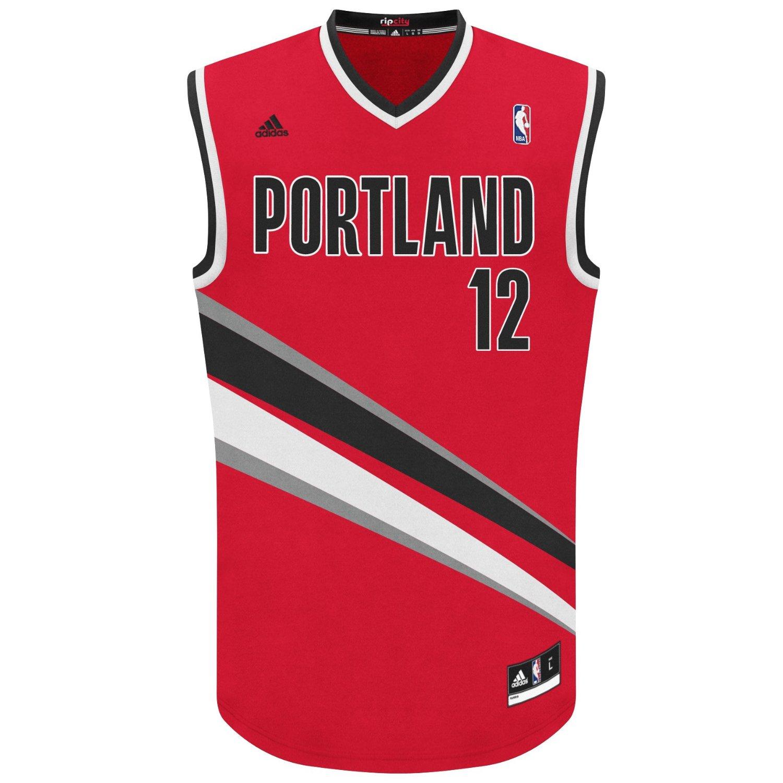 Portland Blkazer: Portland Trailblazers Red Jersey Aldridge