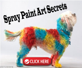 Spray Paint Art Secrets