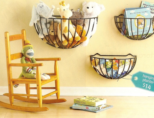 Wall Decor Using Baskets : It s written on the wall tips tricks pantry